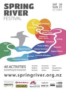 Spring River Festival Poster