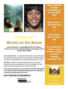 Rehua Marae Movies October 4