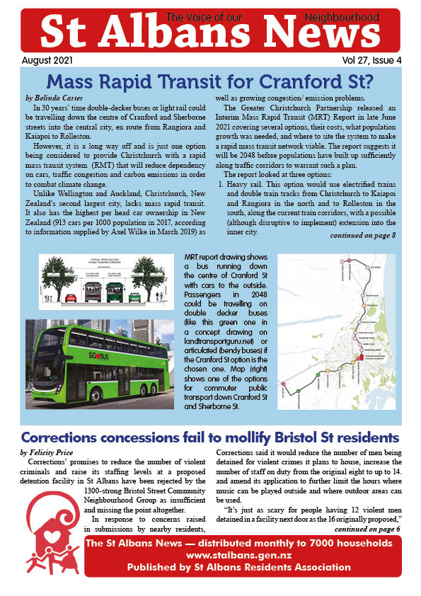 cover of August St Albans News